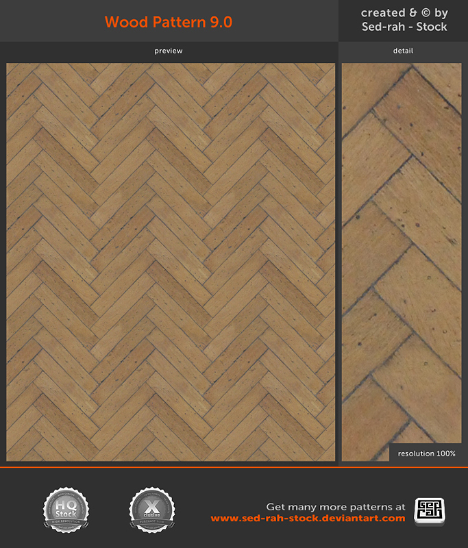 Wood Pattern 9.0 by Sed-rah-Stock
