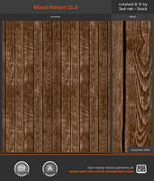 Wood Pattern 11.0 by Sed-rah-Stock