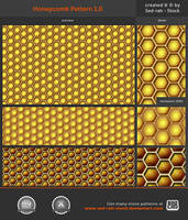 Honeycomb Pattern 1.0 by Sed-rah-Stock