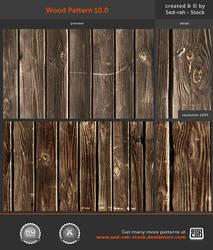 Wood Pattern 10.0 by Sed-rah-Stock