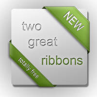 Ribbon Template by Sed-rah-Stock