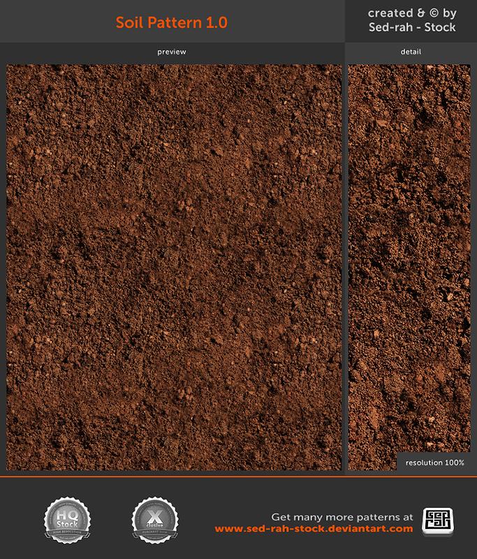 Soil Pattern 1.0 by Sed-rah-Stock