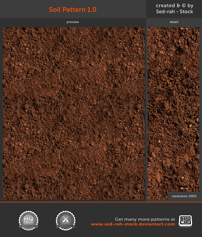 Soil Pattern 1.0 by Sed-rah-Stock