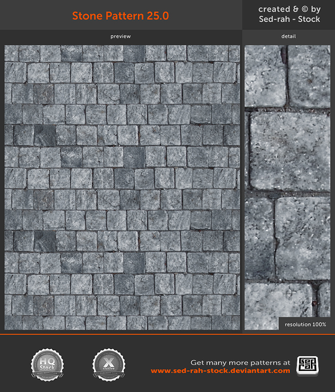 Stone Pattern 25.0 by Sed-rah-Stock