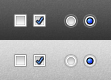 Checkboxes PSD by Sed-rah-Stock