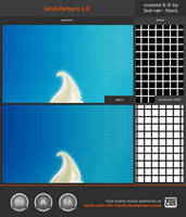 Grid Pattern 1.0 by Sed-rah-Stock