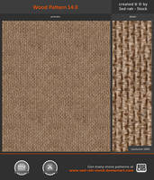 Wood Pattern 14.0 by Sed-rah-Stock