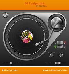 DJ Equipment PSD