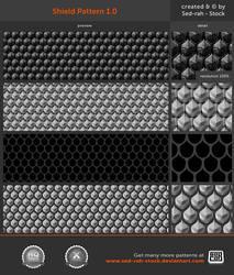 Shield Pattern 1.0 by Sed-rah-Stock