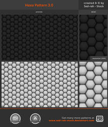 Hexa Pattern 3.0 by Sed-rah-Stock
