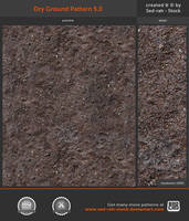 Dry Ground Pattern 5.0 by Sed-rah-Stock