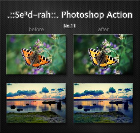Sedrah Photoshop Action No10