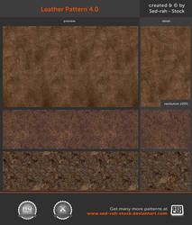 Leather Pattern 4.0 by Sed-rah-Stock