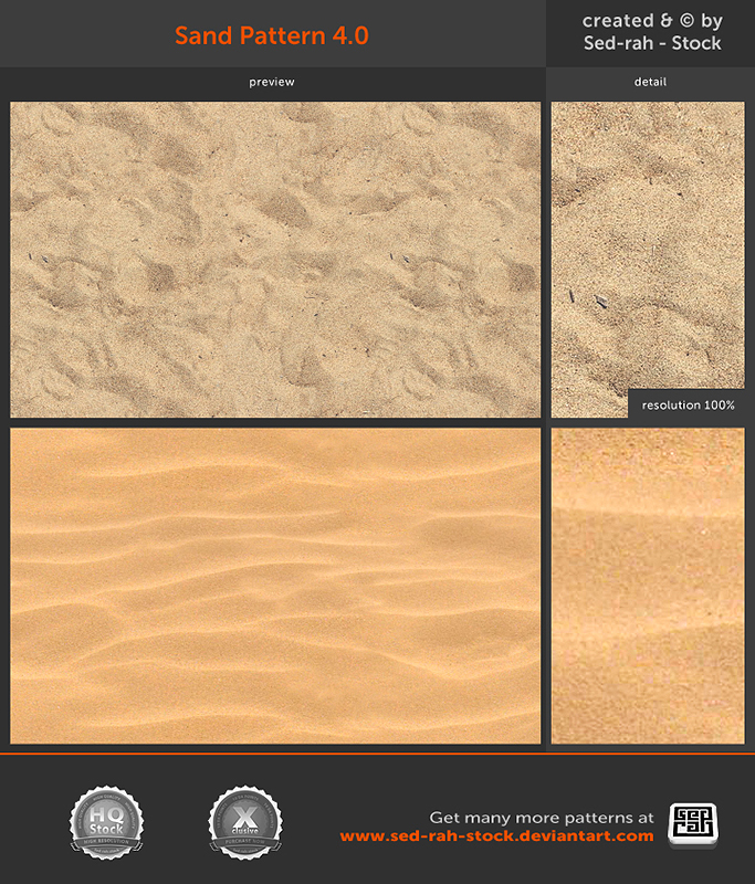 Sand Pattern 4.0 by Sed-rah-Stock