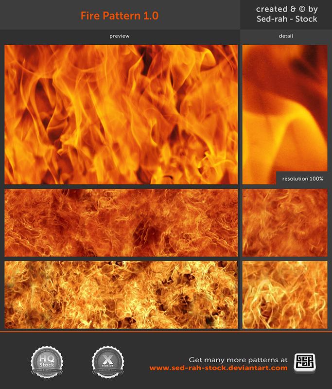 Fire Pattern 1 0 by Sed-rah-Stock on DeviantArt