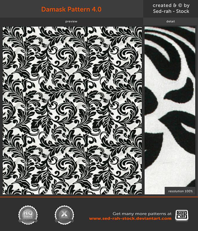 Damask Pattern 4.0 by Sed-rah-Stock