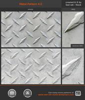 Metal Pattern 4.0 by Sed-rah-Stock