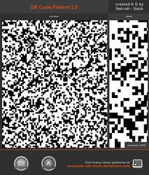 QR Code Pattern by Sed-rah-Stock