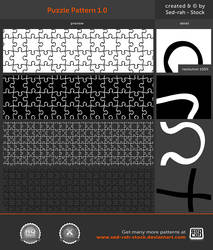 Puzzle Pattern 1.0 by Sed-rah-Stock