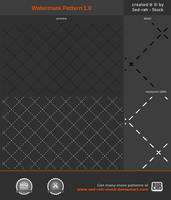 Watermark Pattern 1.0 by Sed-rah-Stock
