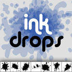Ink Drops Custom Shapes