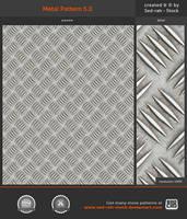 Metal Pattern 5.0 by Sed-rah-Stock