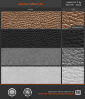 Leather Pattern 7.0 by Sed-rah-Stock