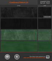 Chalkboard Pattern 1.0 by Sed-rah-Stock