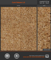 Cork Pattern 1.0 by Sed-rah-Stock
