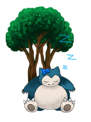 Snorlax gif by Wafers4life