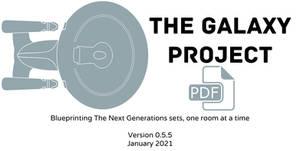 Galaxy Project set blueprints