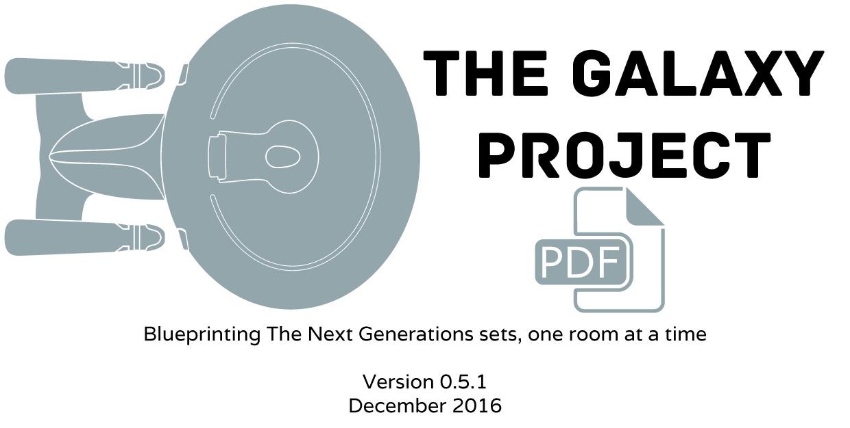 Galaxy Project set blueprints by radishdalek