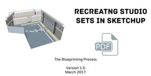 Recreating Studio Sets in Sketchup