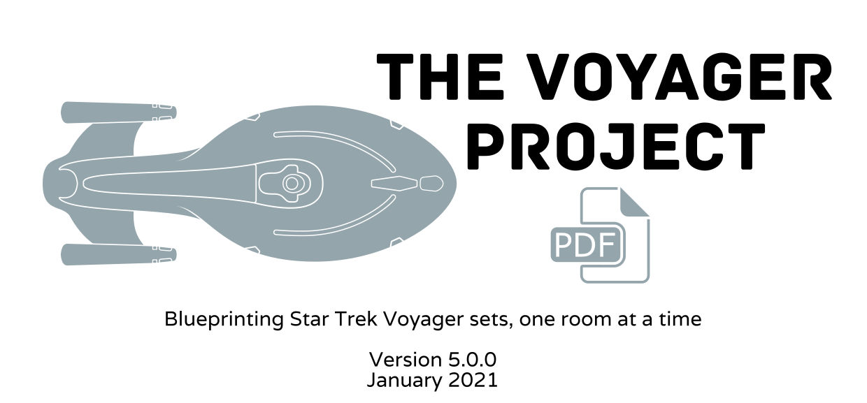 The Voyager Project set blueprints
