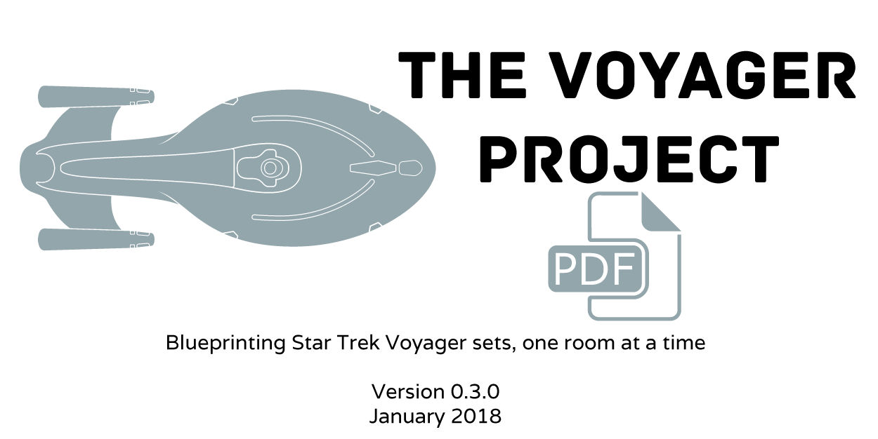 The Voyager Project set blueprints