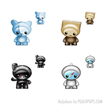 Kaijubees Icons by PeachPoPs by peachpops