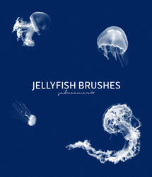 Jellyfish Brushes by sadreamer01