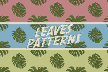 Leaves Patterns by sadreamer01