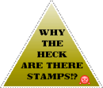 Why are there stamps? by Magix39