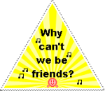 Why can't we be friends by Magix39