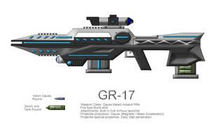 Gauss rifle animated by CommandoN