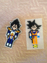 WIP - Dragon Ball Z Magnets by emietheemerald