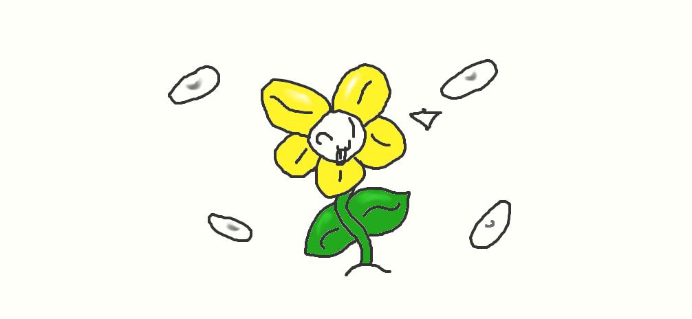 flowey the flower by kittyfan9