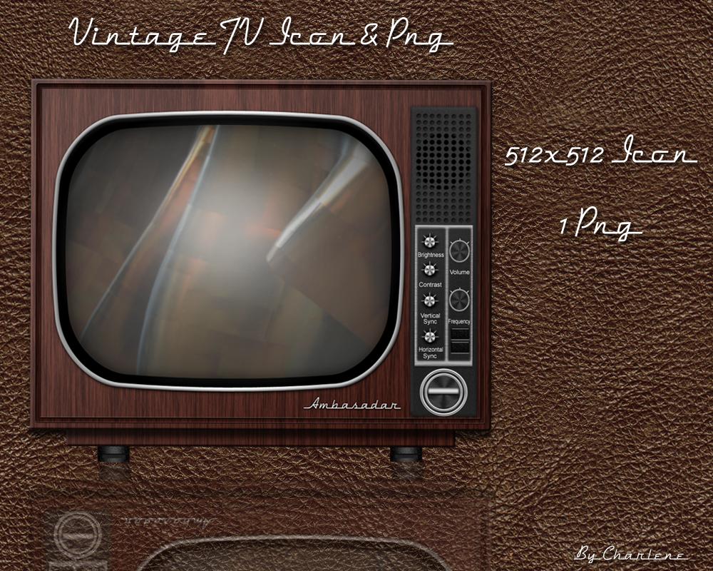 Vintage TV by chamirra on DeviantArt