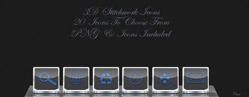 3D Stitchwork Icons