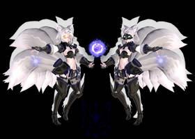 Tda Silver Moon Rin : DL ! by Evelyn-sama