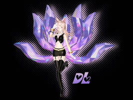 Tda Rin as Ahri : DL !!