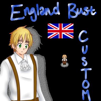 Custom Busts + Sprite sheet: England by Auro-Sya