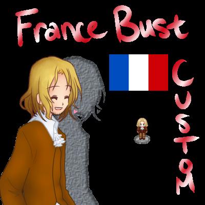 Custom Busts + Sprite sheet: France by Auro-Sya