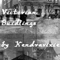 Victorian Buildings by kendravixie